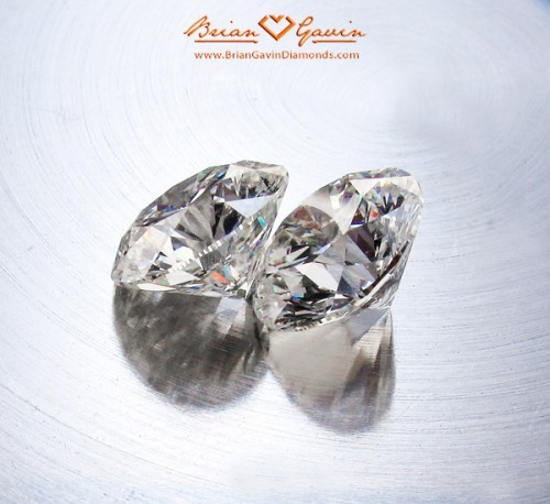 Brian Gavin Siganture Hearts and Arrows Diamonds